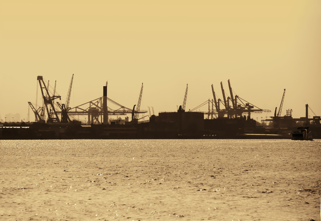 Harbour of Rotterdam