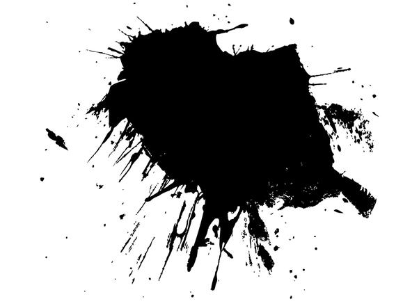 free splatter of paint stock photo