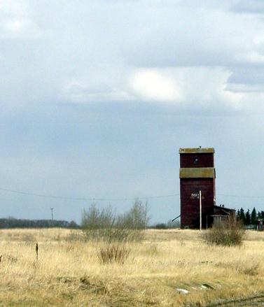 Old Fashioned Grain Elevator