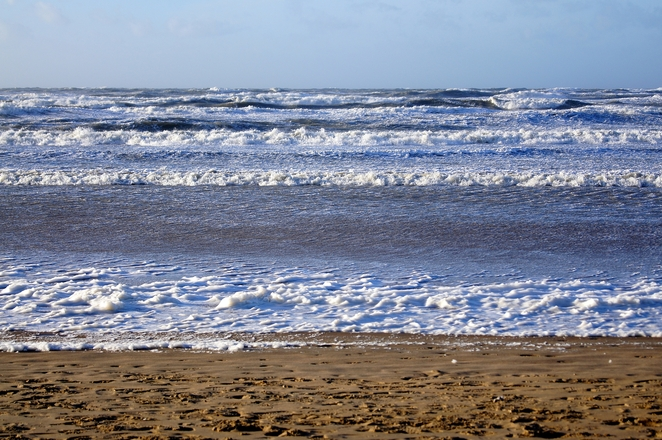 Sand and sea 1