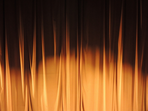 Theater curtain