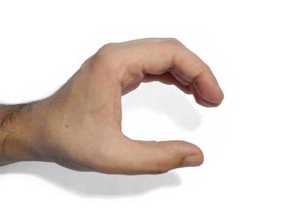 hand in action - open hand 3