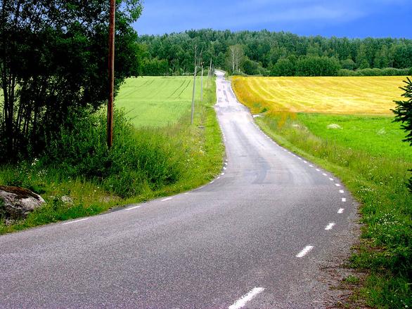 Vanishing road