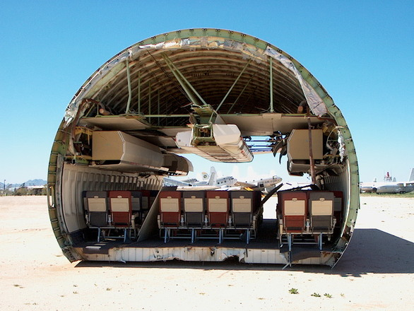 Free Cross Section of an Airplane Stock Photo - FreeImages.com