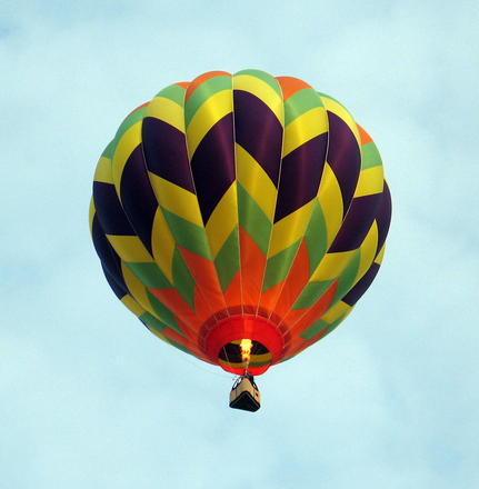 Free hot air balloon stock photo for Housse ballon yoga
