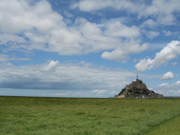 Mont St Michel landscape