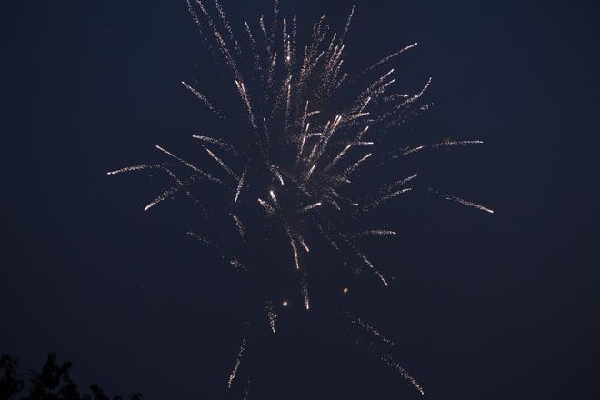 A tiny firework