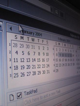 Calendar Outlook