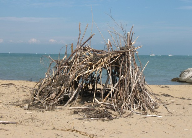hut on the beach 1