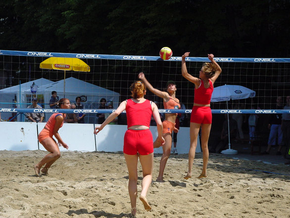 Free Beach Volleyball Stock Photo Freeimages Com