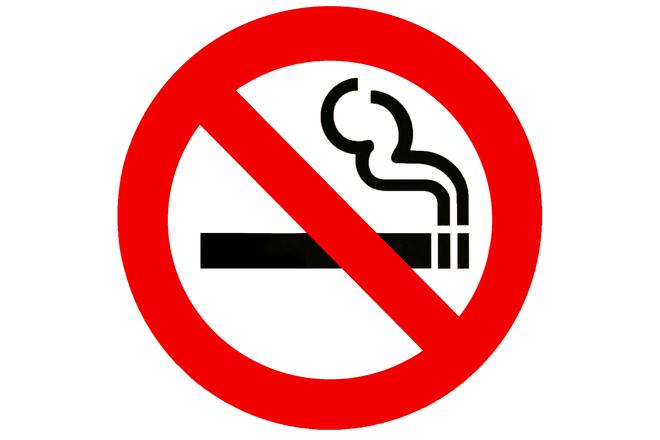 do not smoke in here