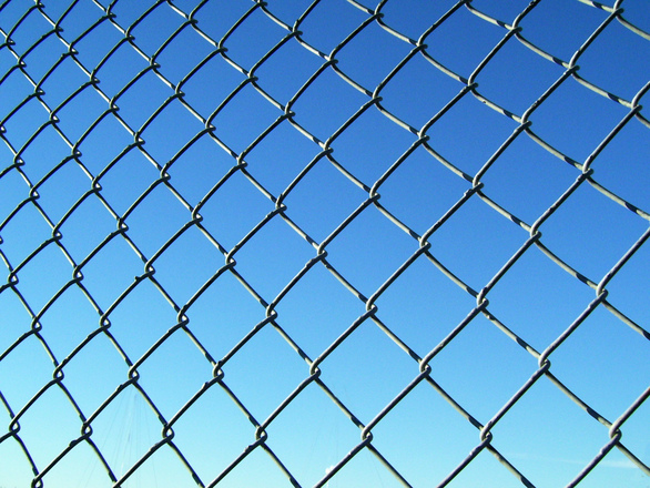 Free chain link fence stock photo freeimages
