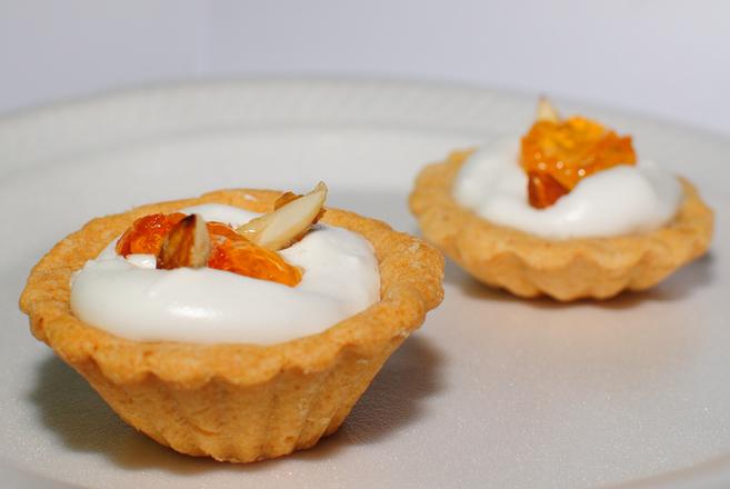 Orange Almond Tart