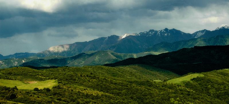 Almaty mountains