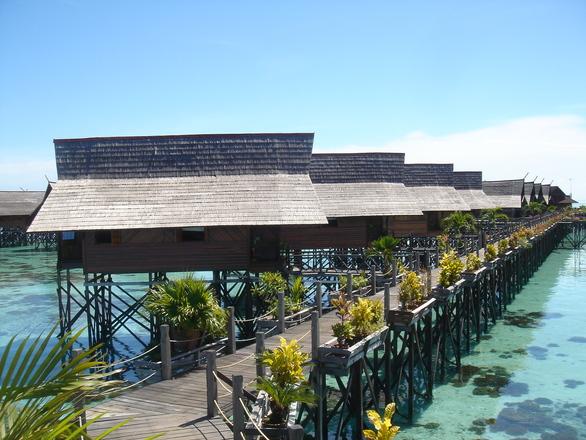 Sipidan Kapalai Water Village