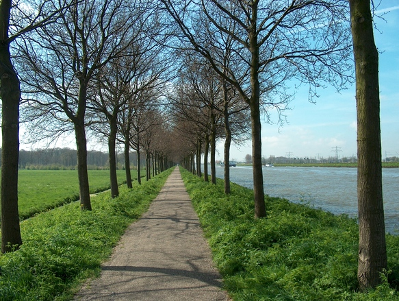 Canal Utrecht to Amsterdam
