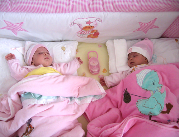 how to get twin girls