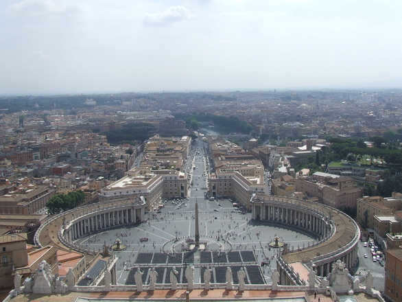 Rome-view from the top