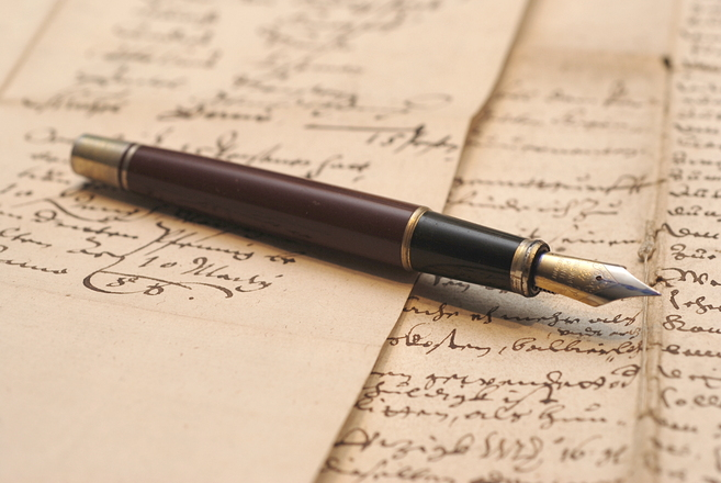 Vintage fountain pen 1