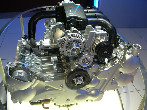 Auton moottori