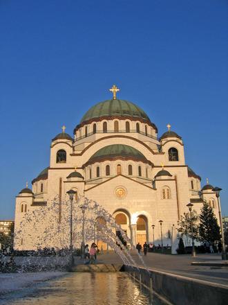 St Sava Temple in Belgrade