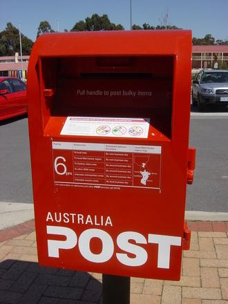Free Australia Post Box Stock Photo Freeimages Com