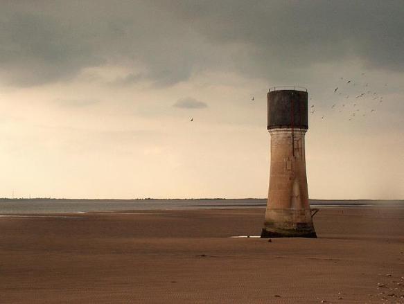 tower on the coast