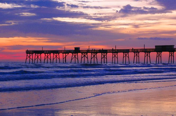 sunglow pier photo file 1359689 freeimagescom