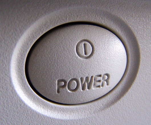 Monitor Power Button : Free power button of monitor stock photo freeimages