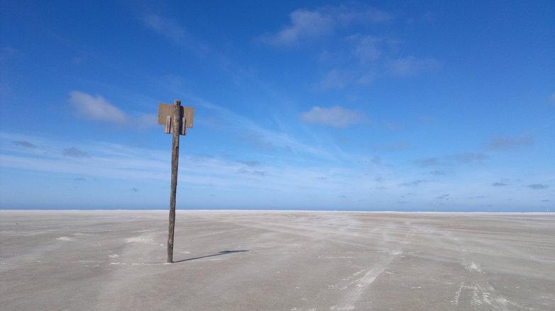 Empty Beach Ameland