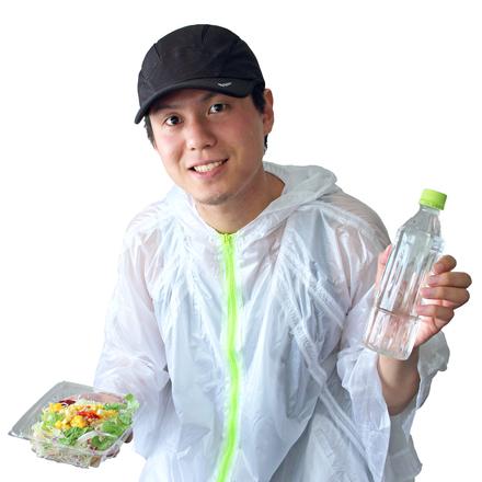 Eating salad for health
