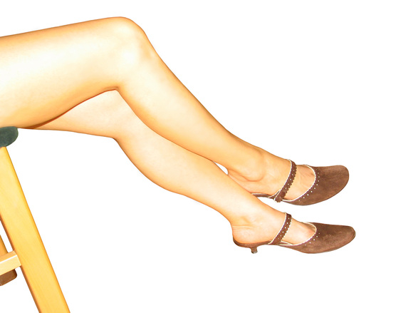 Women legs with shoes