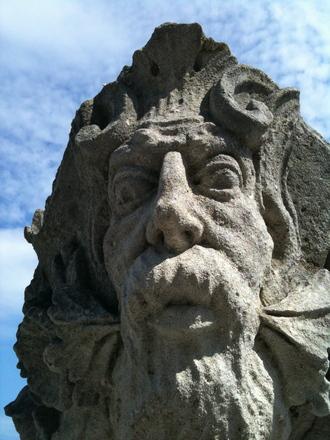 Statue Close Up, Newport RI
