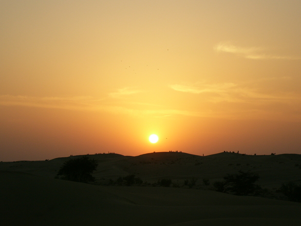 desert sunset, photo file, #1195178 - FreeImages.com