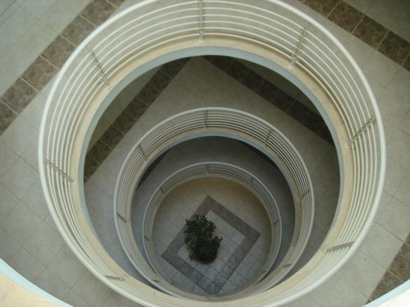Round stairways