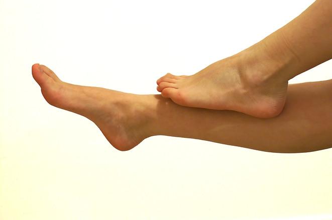 Angle poise legs