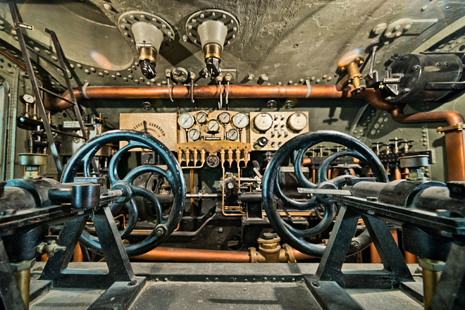 Submarine Cockpit