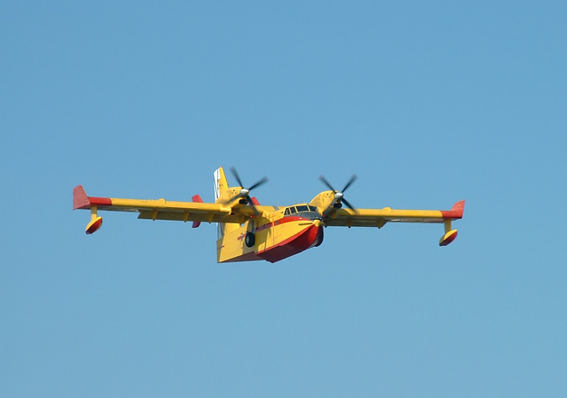 Spanish firefighting plane