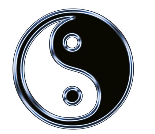 Free Yin Yang Symbol 2 Stock Photo Freeimages