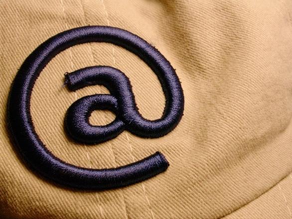 Arroba - AT Symbol in analogic