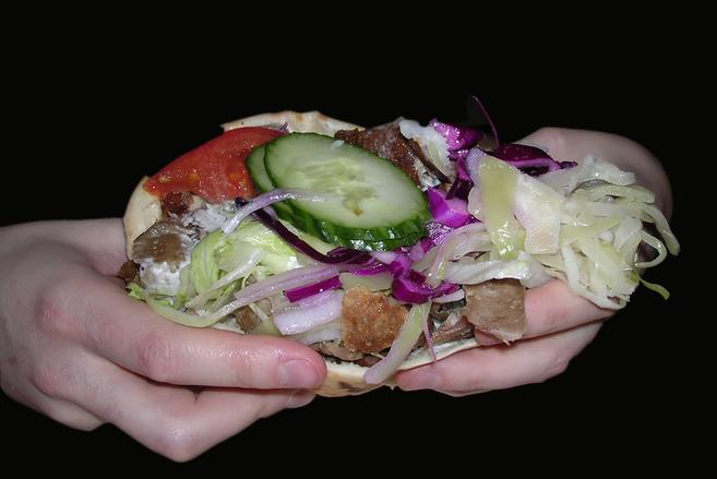 Greasy Late Night Kebab
