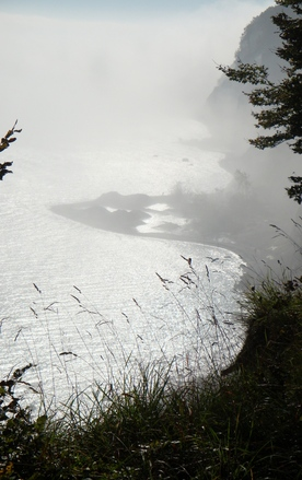 fog at the Baltic Sea