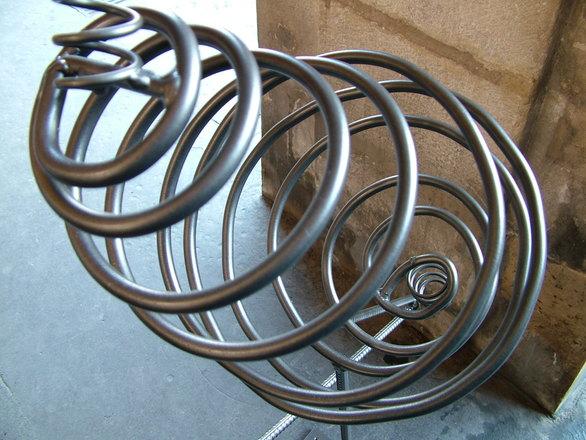 Спираль из металла своими руками