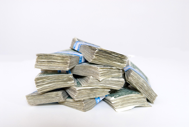 Free Stack Of Cash Stock Photo FreeImagescom
