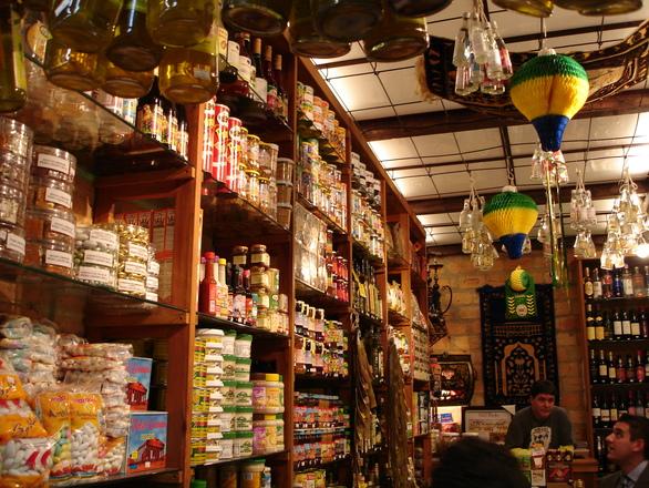 Simple food store