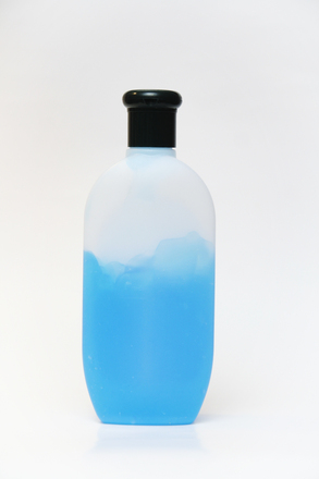 Isolated Shampoo bottle