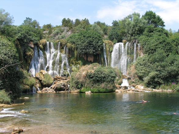 Free Waterfall Kravice Stock Photo