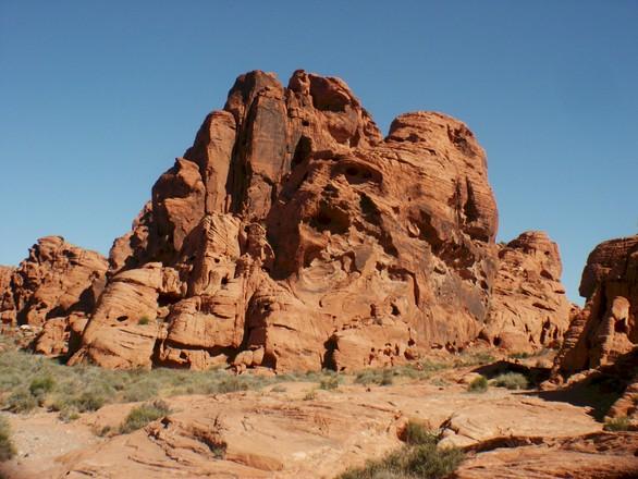 Free Las Vegas Area Mountain Landscape Stock Photo