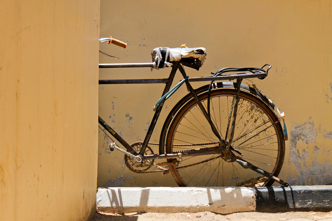 A run-down Bike
