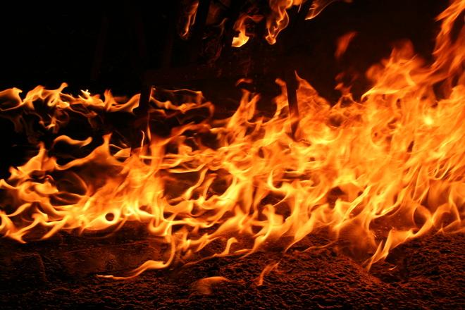 burning street 2